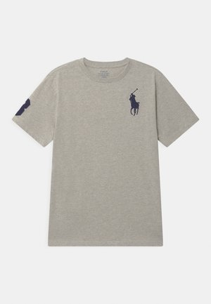 Print T-shirt - new grey heather