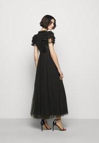 Needle & Thread - SHIRLEY RIBBON BODICE ANKLE DRESS - Společenské šaty - ballet black - 2
