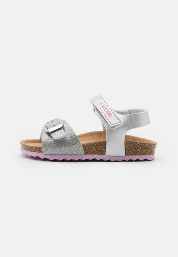 ADRIEL GIRL - Sandals - silver