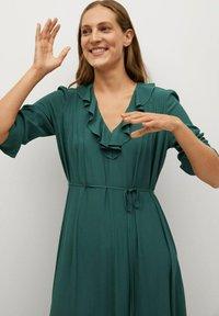 Mango - NOIR - Day dress - grün - 4