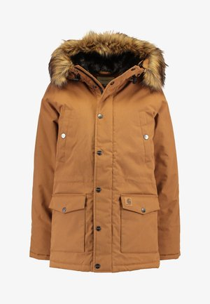 TRAPPER - Winter coat - hamilton brown/black