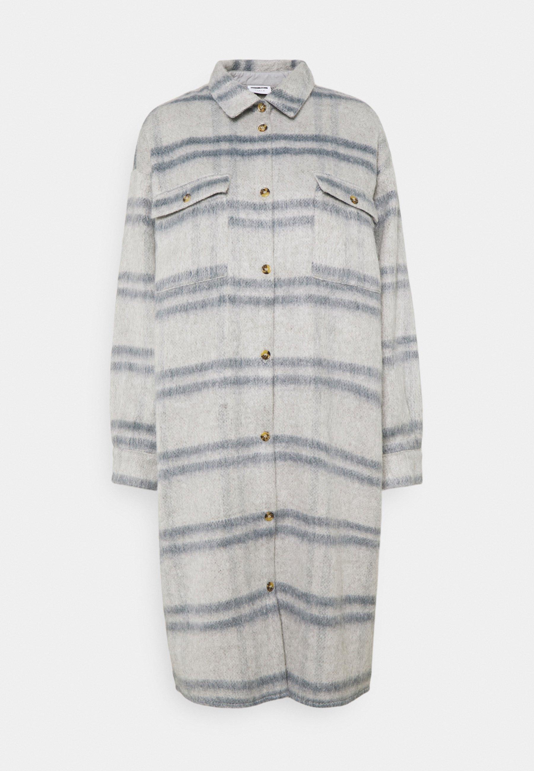 Women NMLULLA EXTRA LONG SHACKET - Classic coat