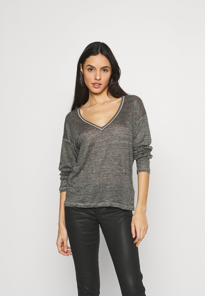 Pepe Jeans - LUCY - Long sleeved top - grey marl