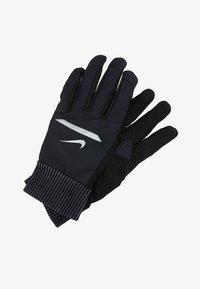 Nike Performance - MENS SHIELD RUNNING GLOVES - Fingervantar - black/wolf grey/silver - 2