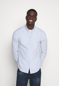 Abercrombie & Fitch - Shirt - white/blue - 0