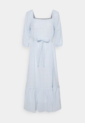 ONLLOTUS MID CALF DRESS - Day dress - blue fog/cloud dancer