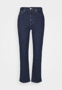 HARPER - Jeans a sigaretta - oslo dark blue