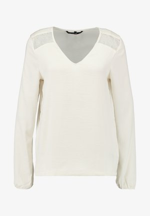 VMSANDRA V-NECK - Blouse - birch