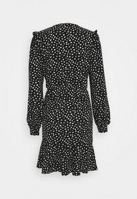 ONLY - ONLSANDY SHORT DRESS  - Day dress - black/white - 1