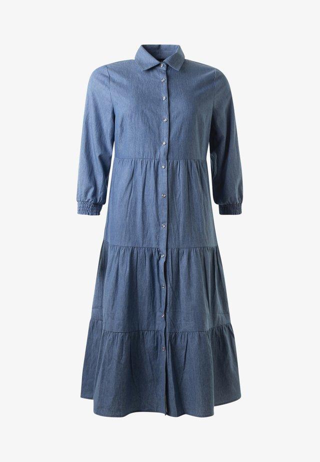 Skjortklänning - blue chambray