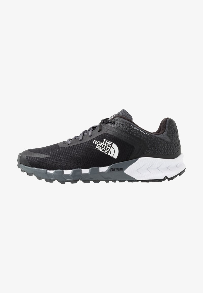 The North Face - FLIGHT TRINITY - Trail running shoes - dark shadow grey/black