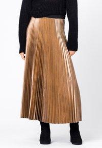 HALLHUBER - A-line skirt - camel - 0