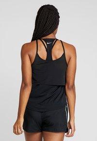 Nike Performance - TANK BREATHE - Koszulka sportowa - black/reflective silver - 2
