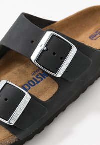 Birkenstock - ARIZONA - Slippers - black - 2