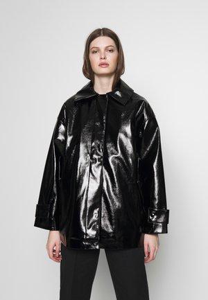 ALANI PATENT - Light jacket - black