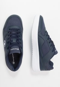 Champion - LOW CUT SHOE REBOUND - Basketball shoes - navy - 1