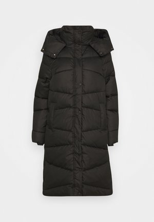 Winter coat - deep black