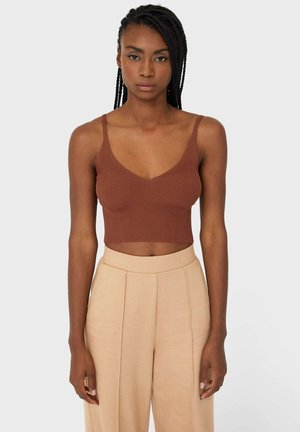 STICK-BRALETTE - Toppi - brown