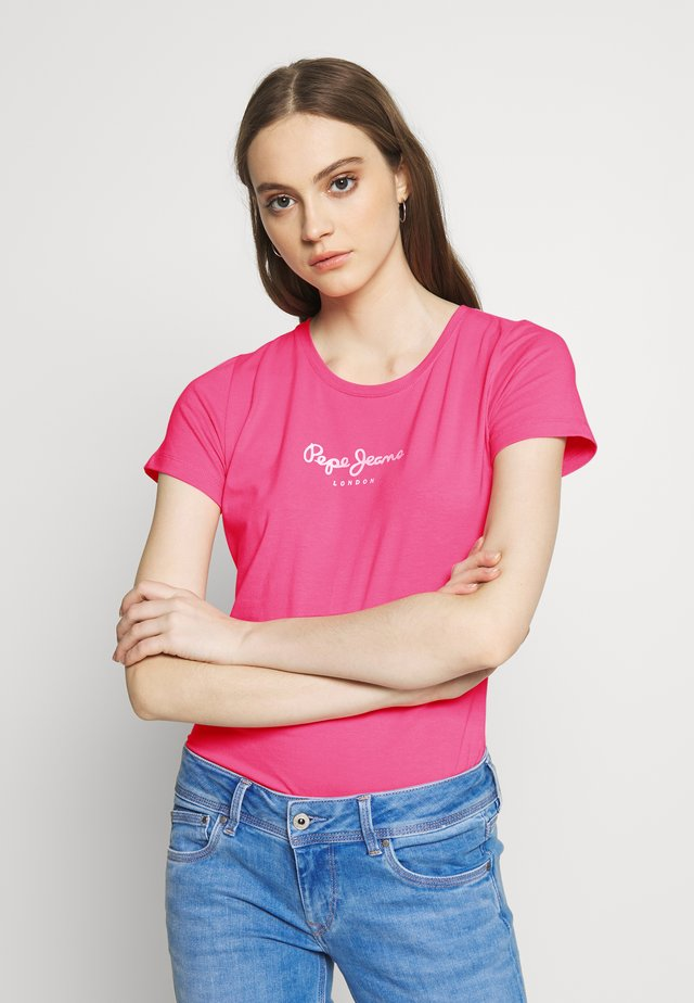 VIRGINIA NEW - T-shirt z nadrukiem - pink