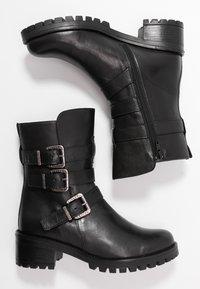 Pinto Di Blu - Cowboy/biker ankle boot - noir - 3