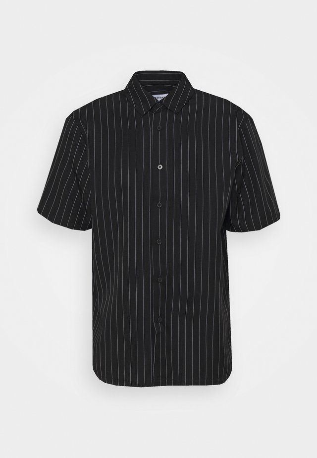 KIAN STRIPED SHIRT - Skjorter - black