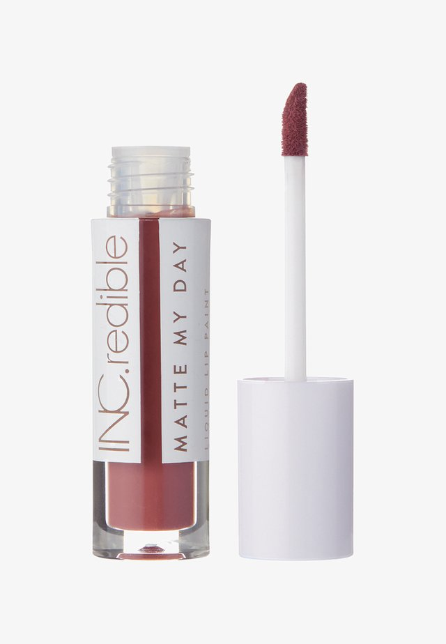INC.REDIBLE MATTE MY DAY LIQUID LIPSTICK - Liquid lipstick - 10066 yours for the taking