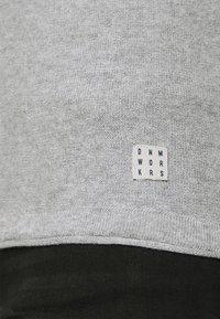 Blend - Stickad tröja - grey - 3