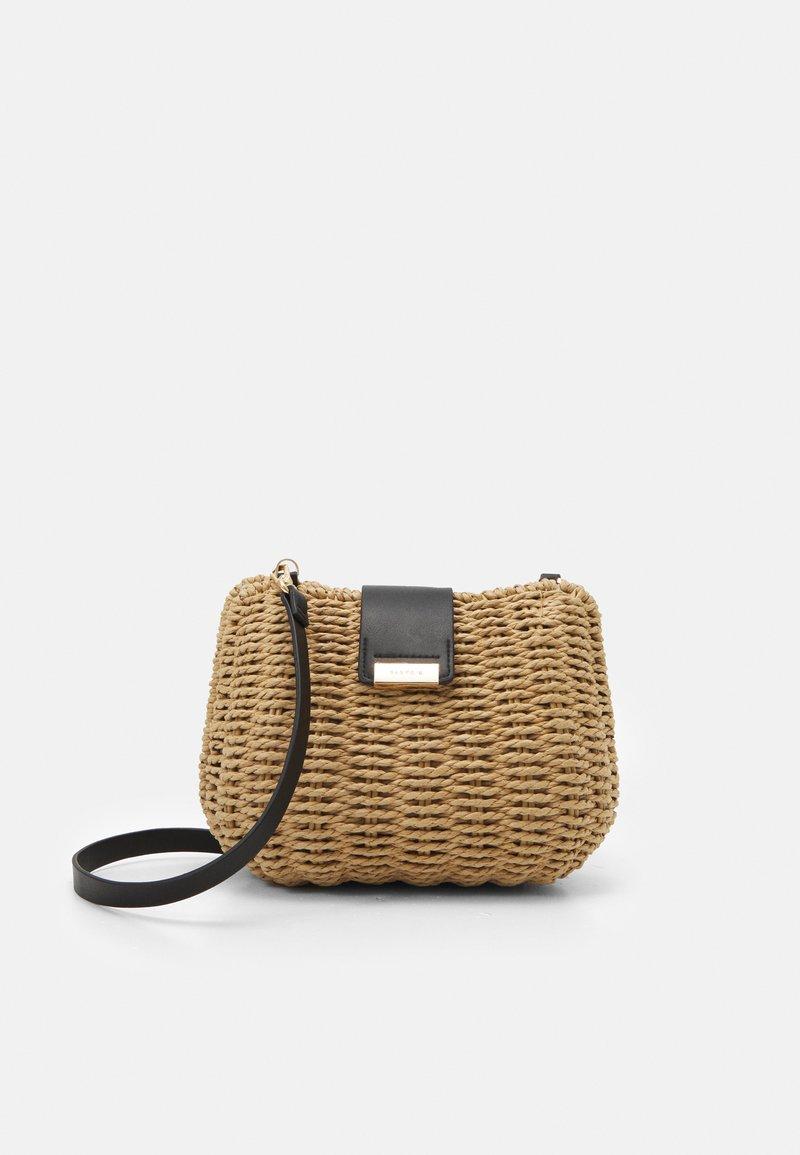 PARFOIS - CROSSBODY  BAG PEPPER M - Across body bag - beige