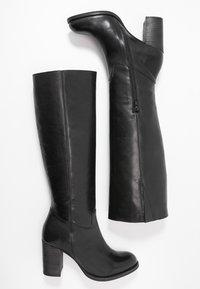 Lazamani - Høje støvler/ Støvler - black - 3