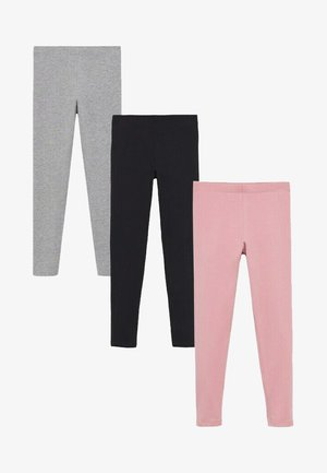 3-PAK  - Leggings - Trousers - lichtroze