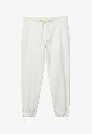 Pantaloni sportivi - ecru