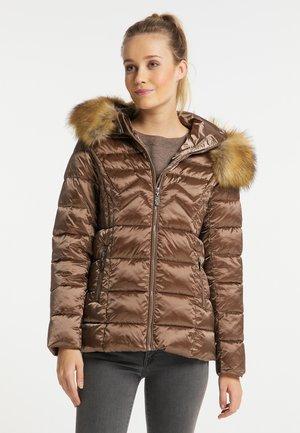 Winter jacket - tabak