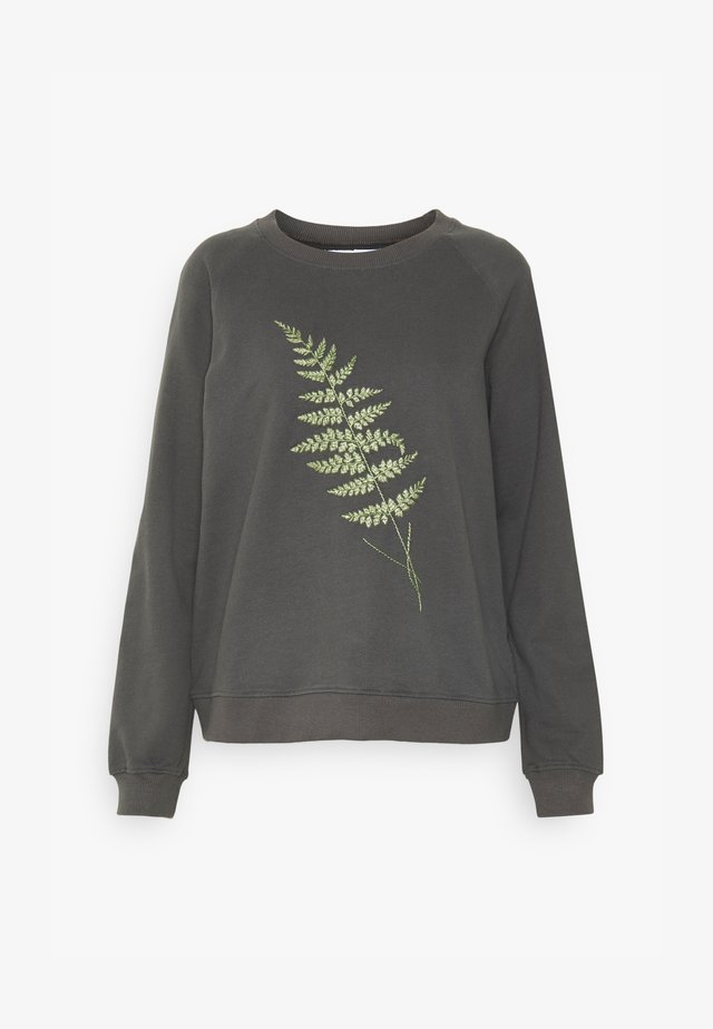 YSTAD FERN - Sweatshirt - charcoal