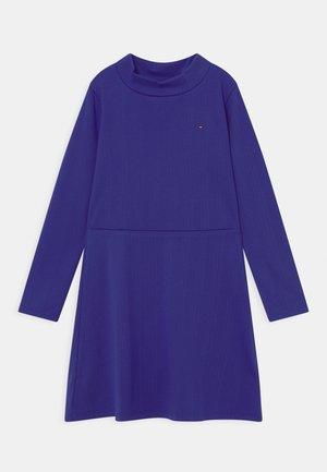 MOCK NECK SKATER DRESS - Jersey dress - court purple