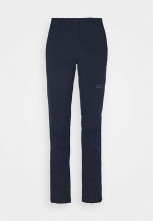 ZENON PANTS WOMEN - Pantalones montañeros largos - midnight blue