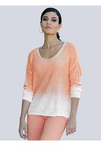 Alba Moda - Long sleeved top - off-white,pfirsich - 0
