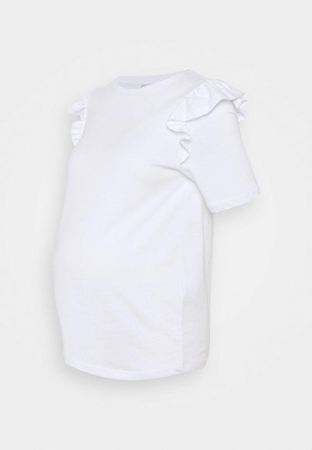 PCMTILDE - Jednoduché triko - bright white