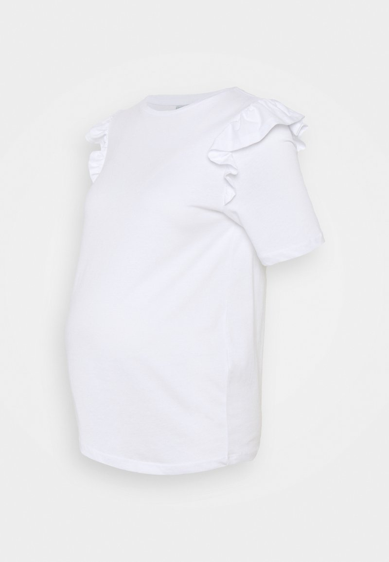 Pieces Maternity - PCMTILDE - Basic T-shirt - bright white