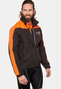 JP1880 - GROSSE GRÖSSEN FUNKTIONS - Outdoor jacket - schwarz - 0