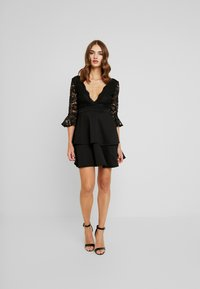 Sista Glam - NOVA - Vestido de cóctel - black - 0