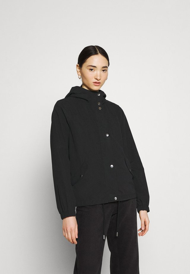 JDYNEWHAZEL SHINE JACKET - Lehká bunda - black