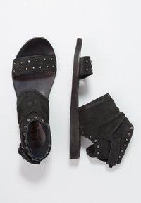 Felmini - CAROLINA  - Ankle cuff sandals - pacific black - 3