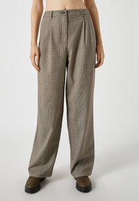 PULL&BEAR - Trousers - grey - 0