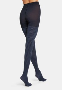 Wolford - FIDES  - Tights - black/egyptian blue - 1