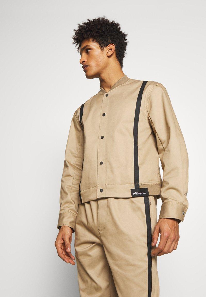 3.1 Phillip Lim - JACKET REMOVABLE TAIL - Krátký kabát - sand