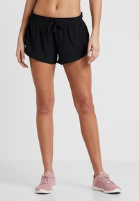 Cotton On Body - MOVE JOGGER SHORT - Sports shorts - black/mid grey marle - 0