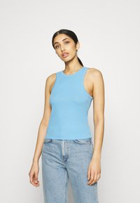 Pieces - PCTAYA CROPPED  - Top - little boy blue - 0