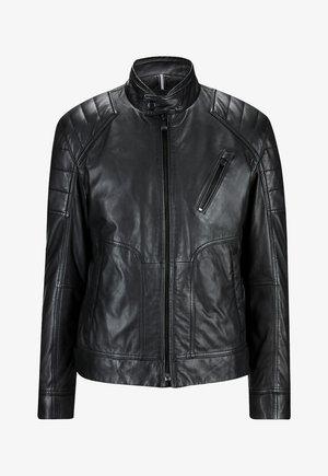 LIMA - Leather jacket - schwarz