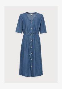 Thought - ESTHER TIE WAIST DRESS - Denimové šaty - chambray blue - 4