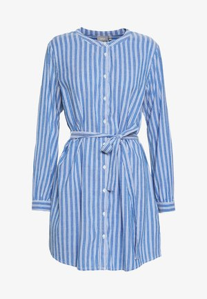 JOANNA TUNIC - Shirt dress - blue
